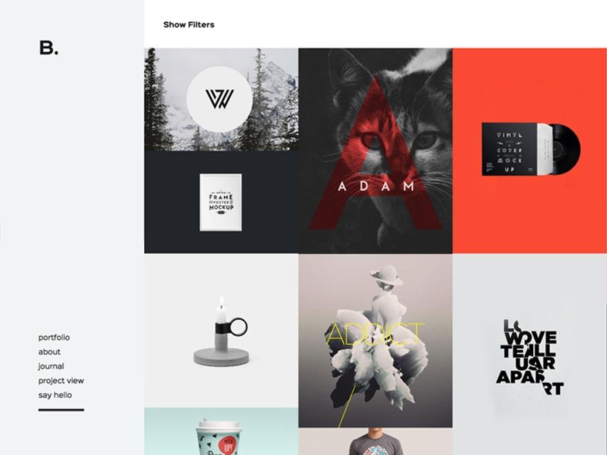 Signature theme WordPress