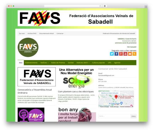 Free WordPress Contact Widgets plugin - favsabadell.cat