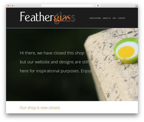 The Retailer WordPress theme - featherglass.com.au