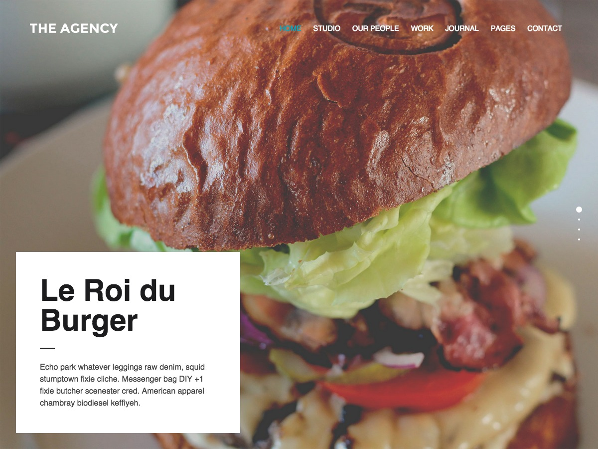 TheAgency WPL WP theme