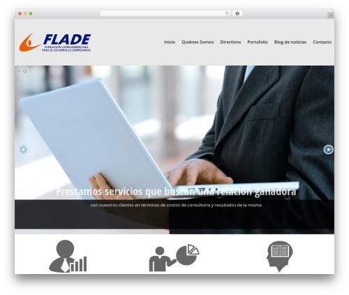 WordPress slider plugin - flade.co
