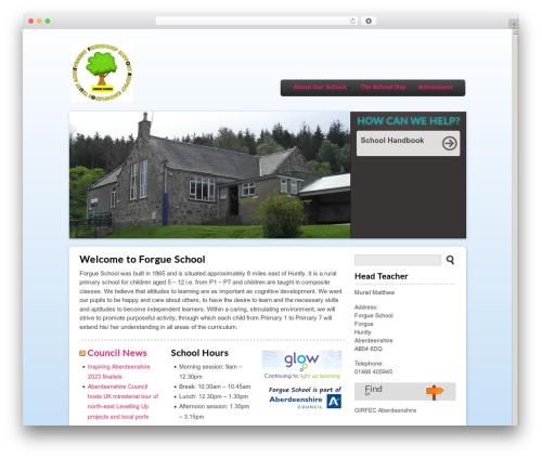 Theme WordPress Peekaboo - forgue.aberdeenshire.sch.uk