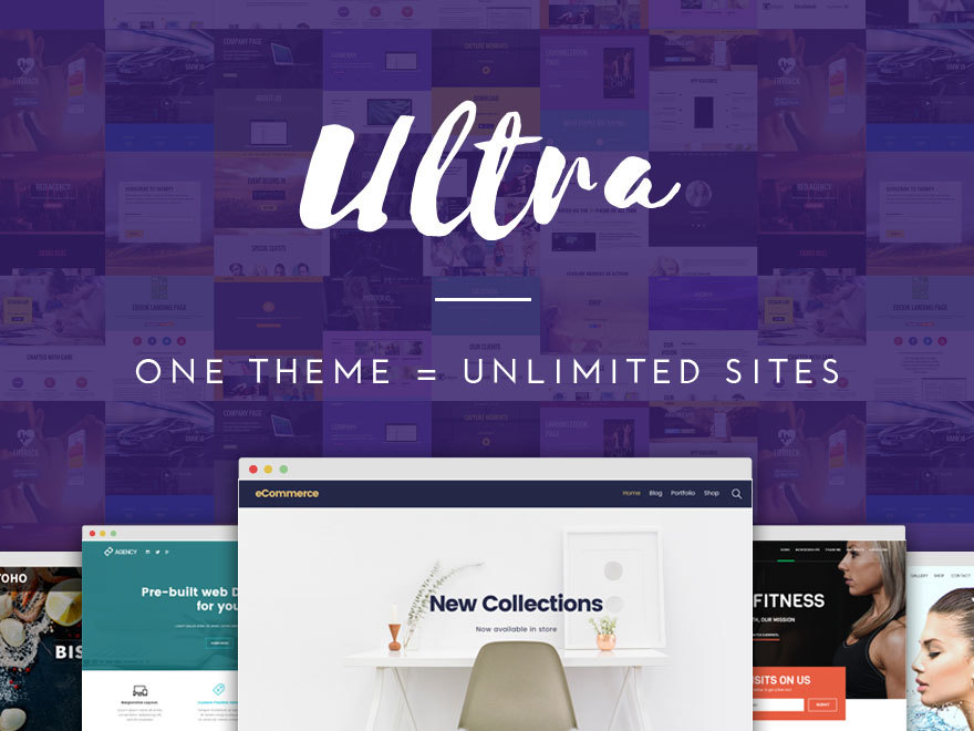 Themify Ultra WordPress website template