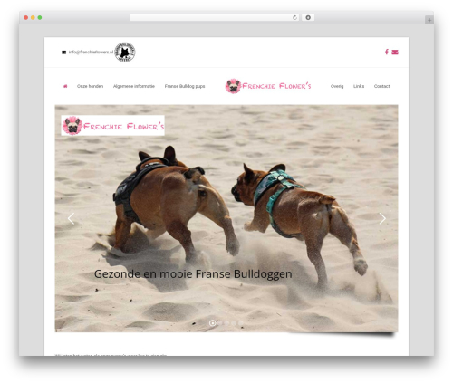 Total WordPress page template - frenchieflowers.nl