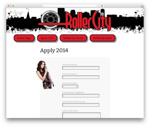 Twenty Thirteen free WordPress theme - form.rollercityrochdale.com