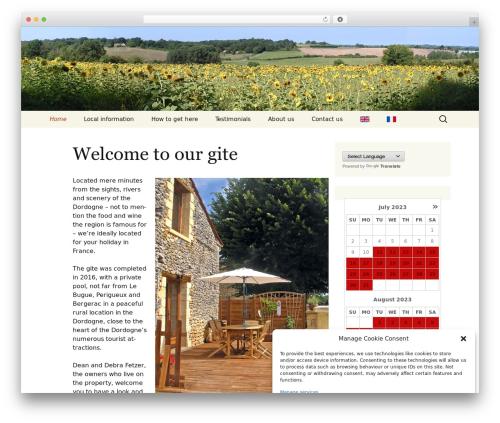 Twenty Thirteen WordPress theme free download - frenchfarmhouseholiday.com
