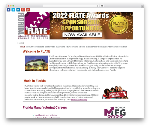WordPress template Coverage - fl-ate.org