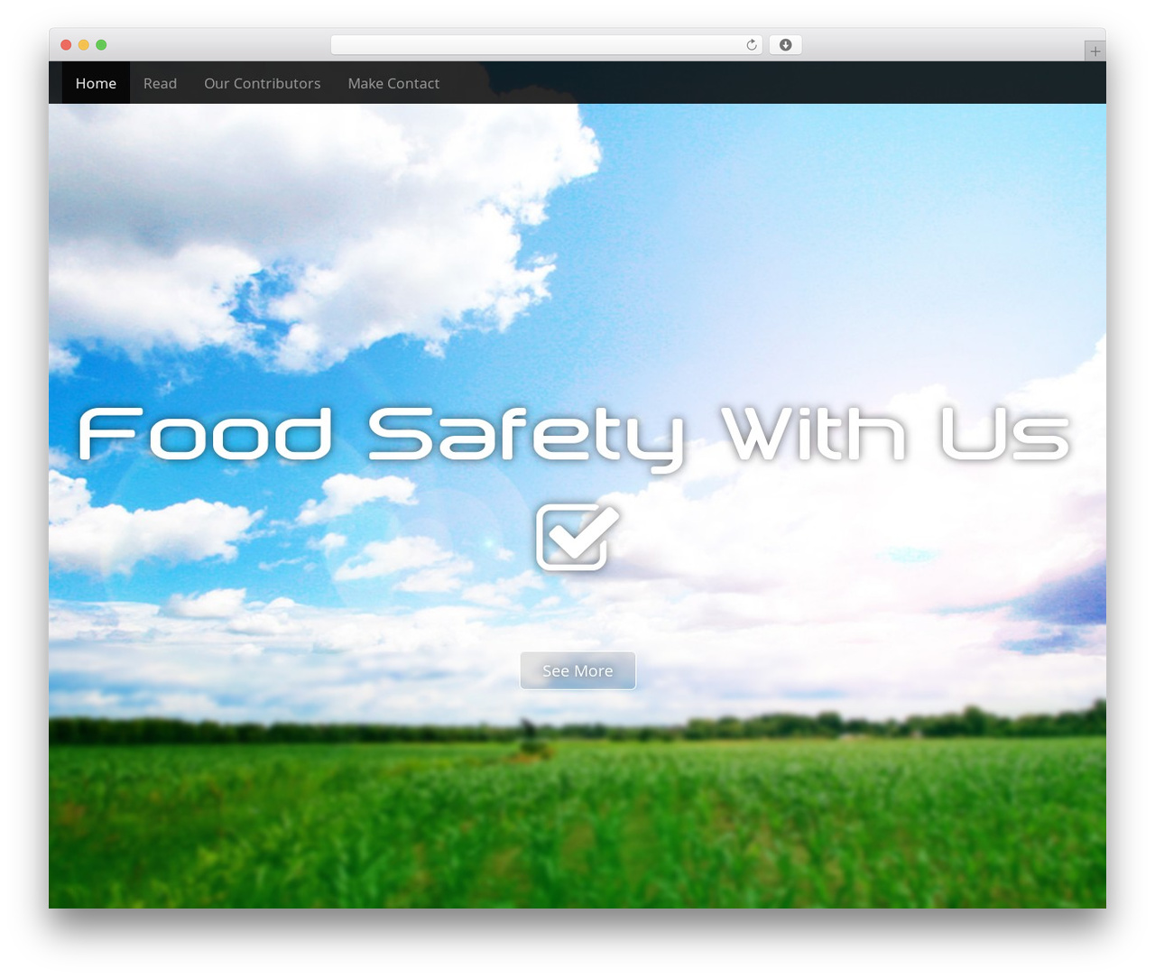 WordPress theme Arcade Basic - foodsafetywith.us