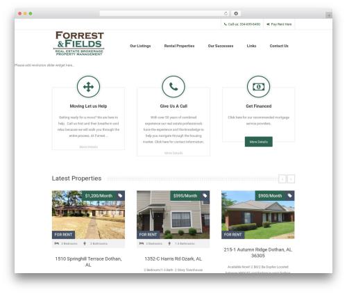 Free WordPress Aqua Page Builder plugin - forrestandfields.com