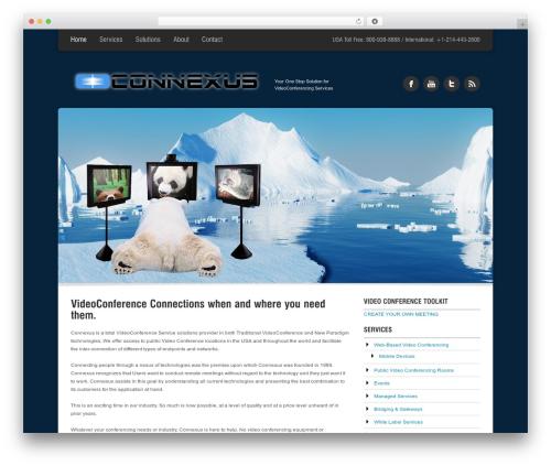 Arctica WordPress video theme - connexusvideo.com