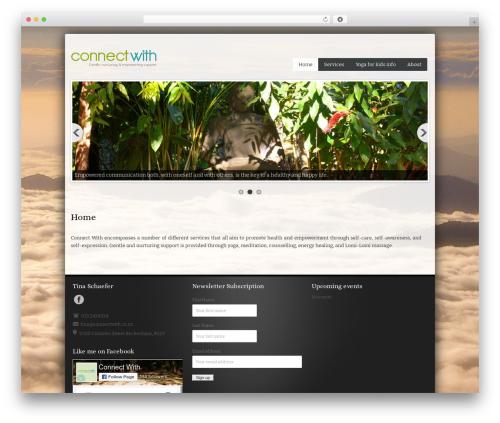 BizStudio Lite theme WordPress free - connectwith.co.nz