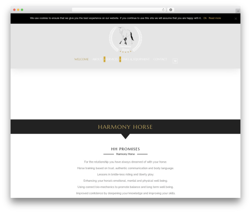 HorseClub WordPress theme - harmonyhorse.info
