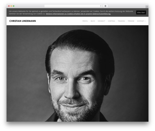WordPress theme Rhythm - christianlindemann.com