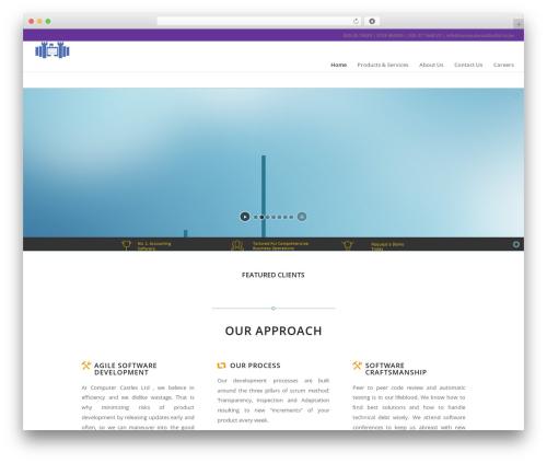 Enfold template WordPress - computercastlesltd.co.ke