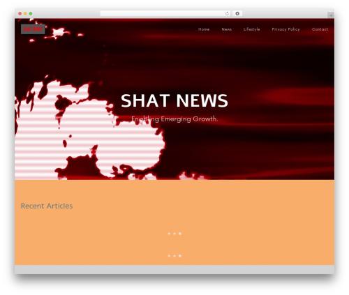 iParty template WordPress free - shatnews.com