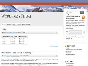 Karim2 WordPress theme