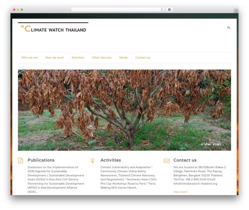 Speedy WordPress template free download - climatewatch-thailand.org