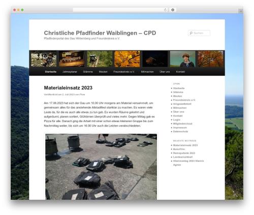Twenty Eleven theme WordPress - cpwn.de