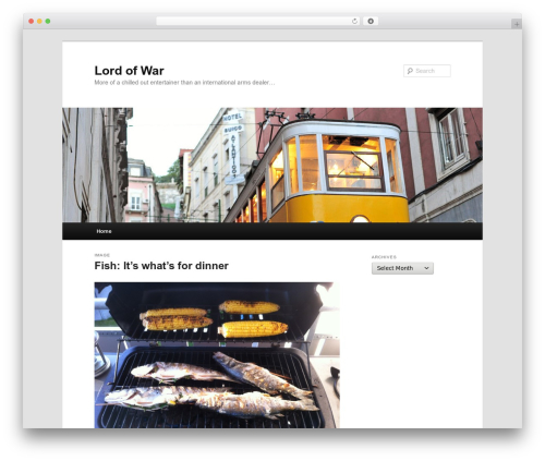 WordPress theme Twenty Eleven - craigmcloughlin.com