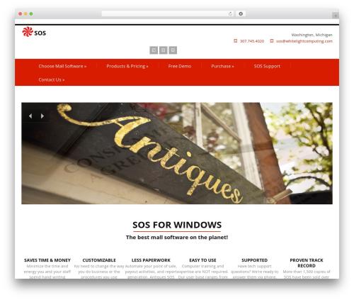 Felicity Pro WordPress theme - craftmallsoftware.com