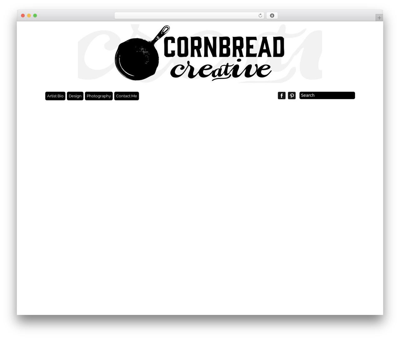 Grid Theme Responsive WP theme - cornbreadcreative.com