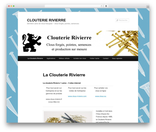 Twenty Eleven theme WordPress free - clous-rivierre.fr