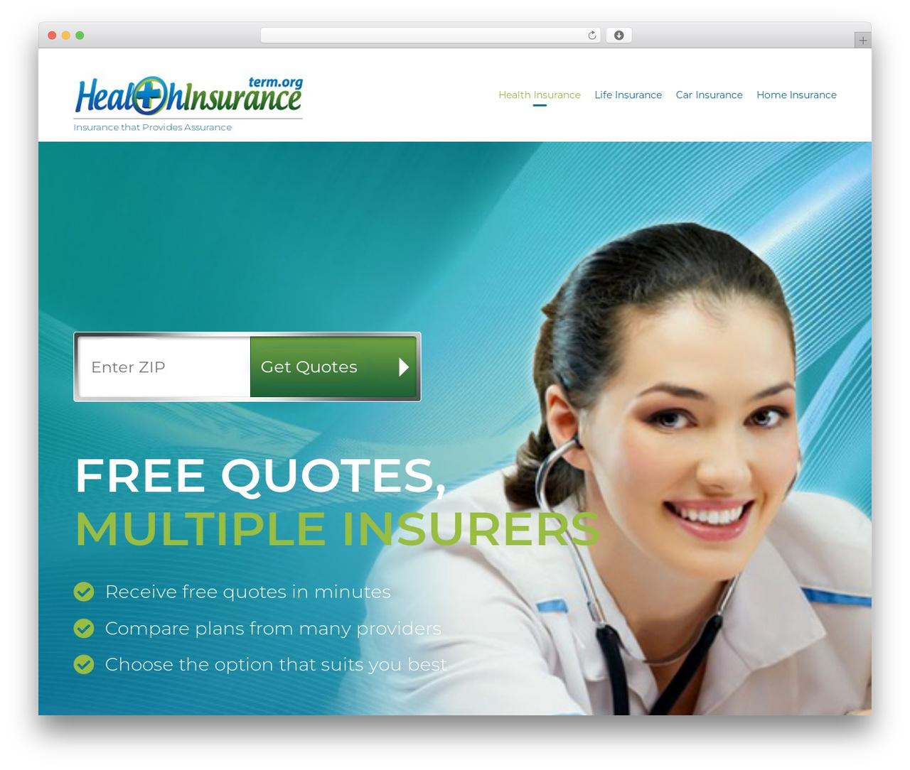 (VamTam) Consulting business WordPress theme - cheaphealthinsurance.term.org
