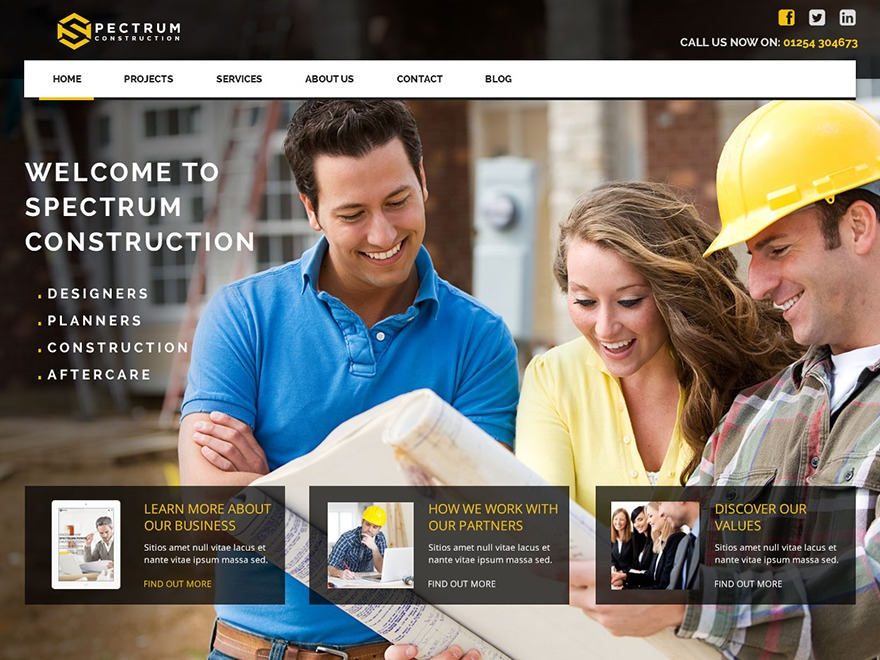WP_Spectrum (JOJOThemes.com - Themepa.com) WordPress news theme