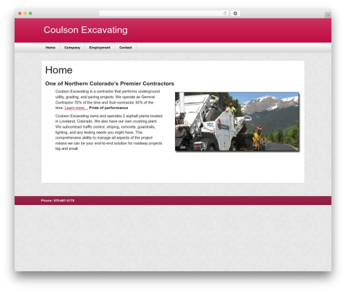 zeeNews WordPress news theme - coulsonex.com