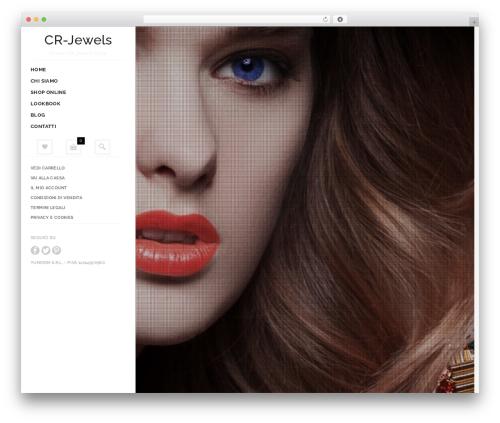 Best WordPress template Butiko - cr-jewels.com