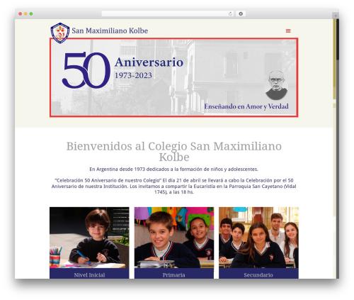 Betheme WordPress theme - colegio-smkolbe.com.ar