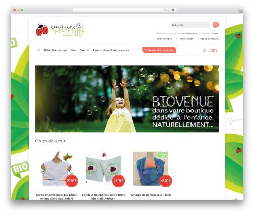 Shoppica WordPress theme - cococinelle.com