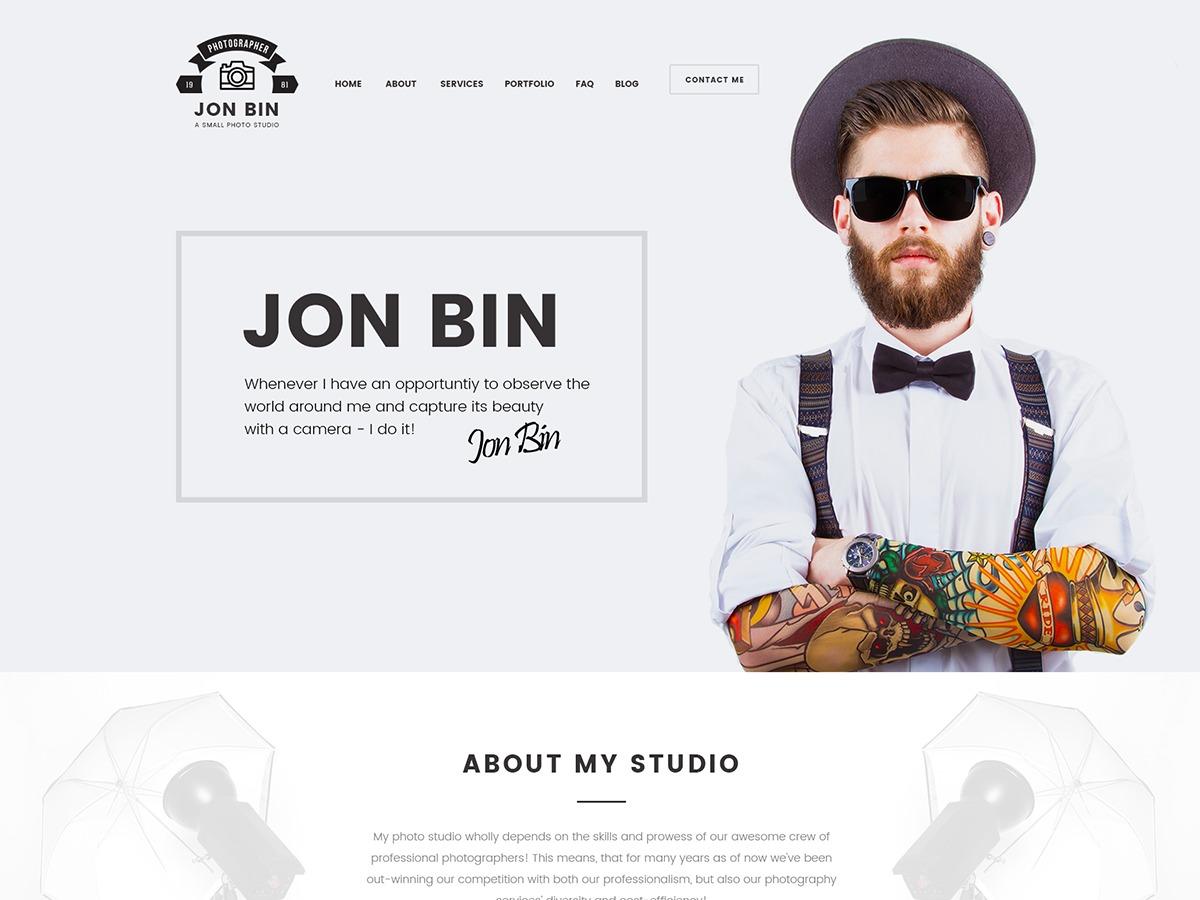 Theme WordPress JonBin