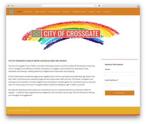 WordPress template Catalyst - crossgateky.org