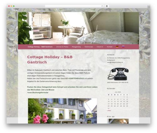 Free WordPress qTranslate X plugin - cottage-holiday.ch