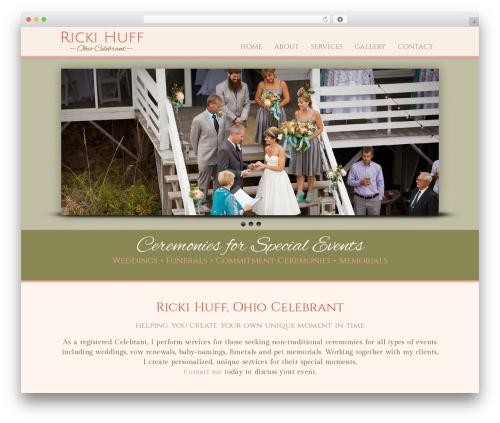 Method best wedding WordPress theme - celebrant-ohio.com