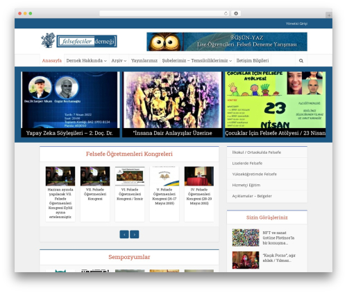 Theme WordPress Voice - felsefecilerdernegi.org.tr