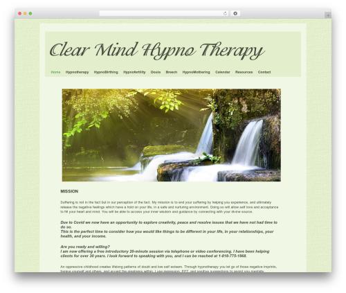 WordPress audio-player plugin - clearmindhypnotherapy.com