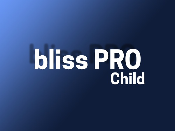 WordPress theme Bliss Child
