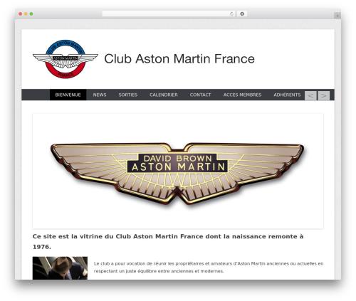 WordPress theme Catch Everest - clubaston.fr