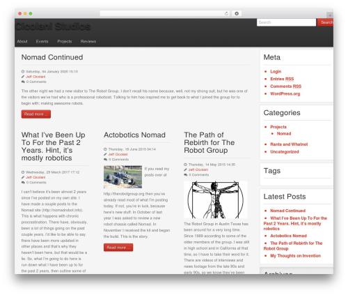 Template WordPress Gantry Theme for WordPress - cicolanistudios.com