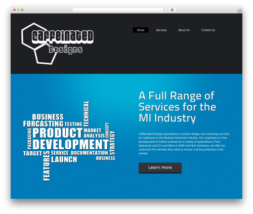 ThemeAlley.Business.Plus WordPress template for business - caffeinated-designs.com
