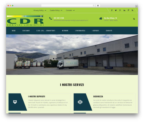 Transport WordPress theme - cdrrende.it