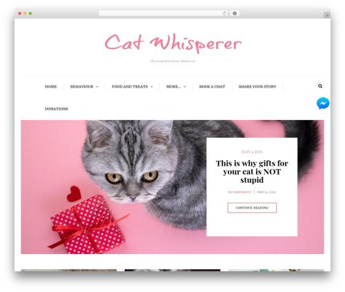 Free WordPress Facebook Messenger for WordPress plugin - catwhisperer.se