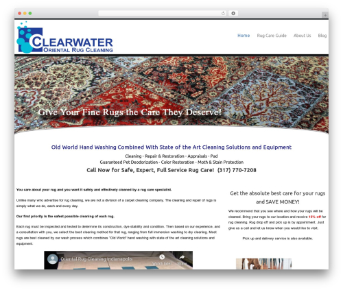 Theme WordPress Celestial Reloaded - clearwaterrugcleaning.com