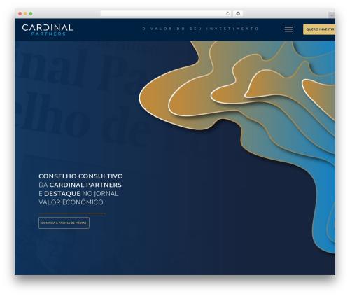 WP theme Konsulting - cardinalpartners.com.br
