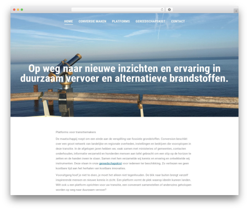 Best WordPress theme The7 - conversion.nl