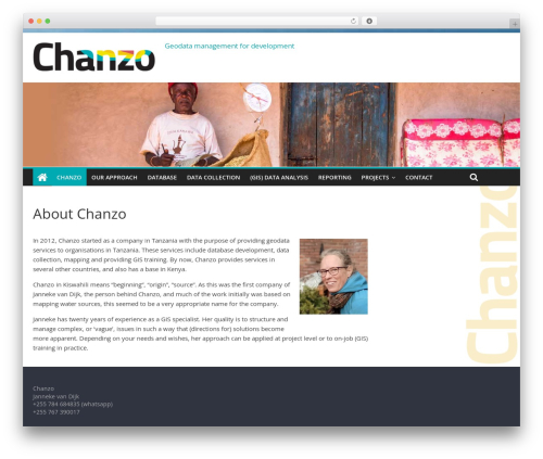 ColorMag free WP theme - chanzo.nl