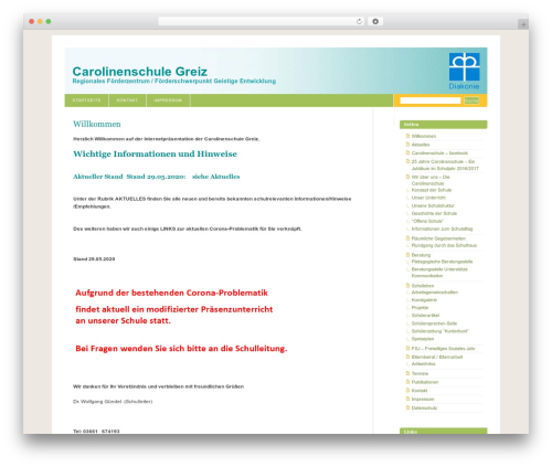 Fixed Blix WordPress theme - carolinenschule-greiz.de