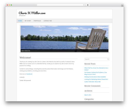 Fresh And Clean theme WordPress - cheriekmiller.com